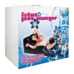 LOTUS LOVE LOUNGER W/VIBRATOR BLACK