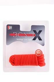 BONDX LOVE ROPE - 5M RED T