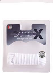 BONDX LOVE ROPE - 5M WHITE T