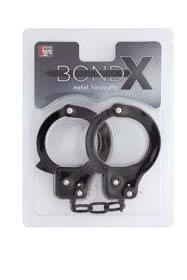 BONDX METAL CUFFS - BLACK T