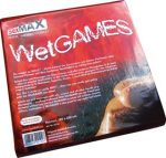 SexMAX WetGAMES Sex-Laken, 180 x 220 cm, Rot (fitted sheet,