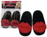Plush Slippers Kiss