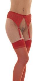 Suspenderbelt with Stockings