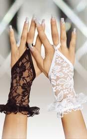 Gloves 7707 {} black/ S/L
